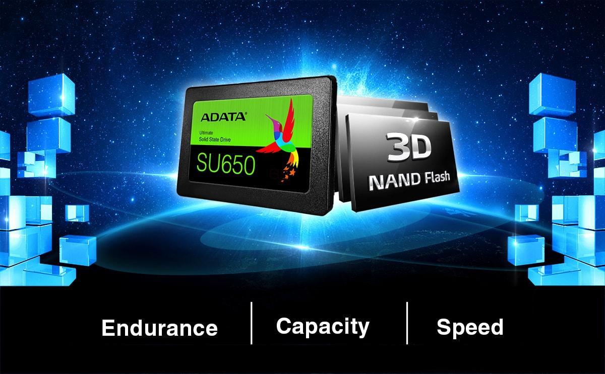 "SSD 240GB ADATA SU650 2,5"" Sata III"